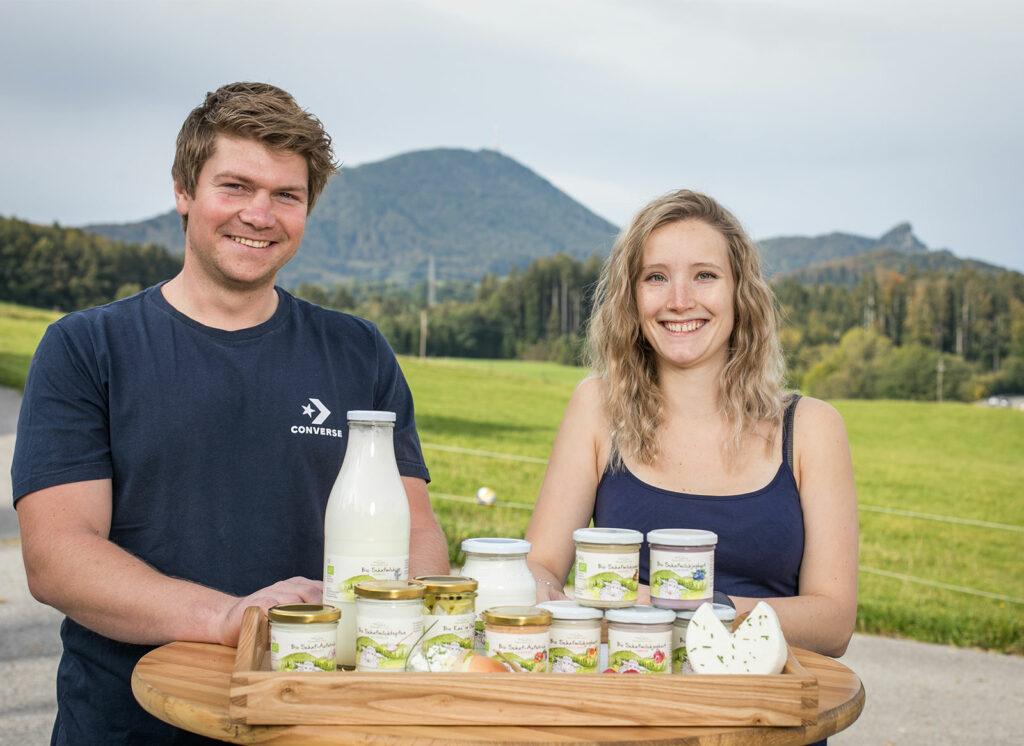 Schafmilch Ließ - Lecker Schmäääcker Ließ - Bio Schafmilchprodukte vom Bauernhof in Hof bei Salzburg